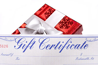 Gift Certificates are an Option for Teachers