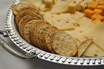 Gift Idea - Gourmet Cheese and Crackers