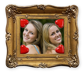 Valentines Day Picture Frame