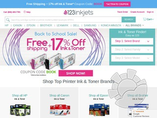 123inkjets coupons promo codes. Black Bedroom Furniture Sets. Home Design Ideas