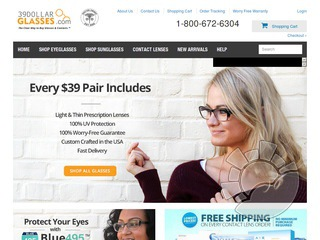 vetmed.ml is an American retail store that provides prescription glasses and lenses. The company operates exclusively online. It is known for providing complete single vision prescription spectacles for only $