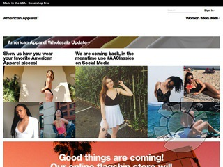 American Apparel Coupons
