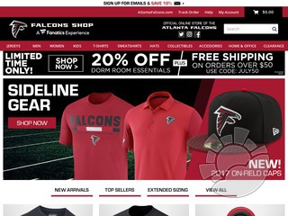 Falcons Shop Coupons