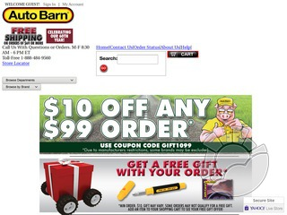Auto Barn Coupons & Promo Codes