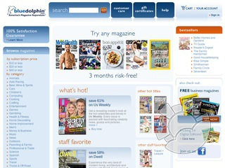 Blue Dolphin Magazines Coupons