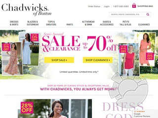Chadwicks.com Coupons