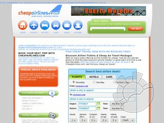 Cheap Airlines Coupons