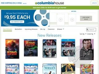 Columbia House Coupons