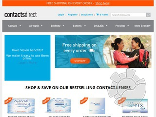 Contacts Direct Coupons