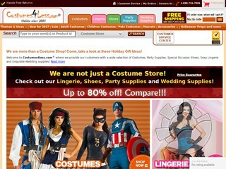 Costumes4Less.com Coupons