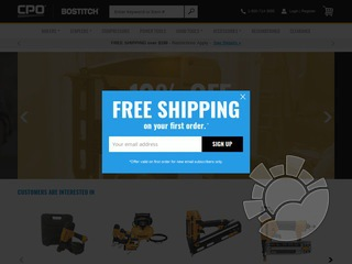CPO Bostitch Coupons