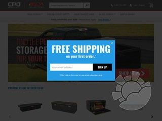 CPO Delta Truck Boxes Coupons