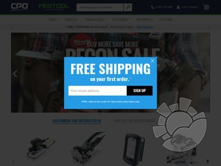CPO Festool Coupons