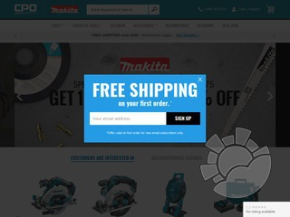 CPO Makita Coupons