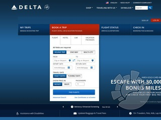 Delta Airlines Coupons