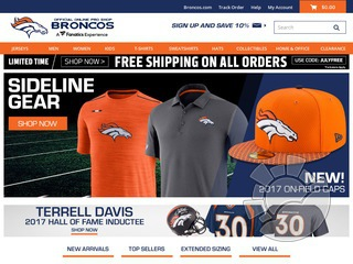 Denver Broncos Store Coupons