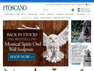 Design Toscano Promo Codes & Cyber Monday Deals for November, Save with 22 active Design Toscano promo codes, coupons, and free shipping deals. 🔥 Today's Top Deal: (@Amazon) Up To 35% Off Design Toscano. On average, shoppers save $27 using Design Toscano coupons from codermadys.ml