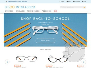 DiscountGlasses.com Coupons