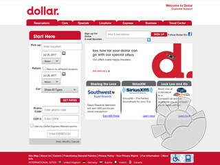 Dollar Rent A Car Coupons