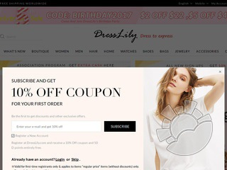 DressLily Coupons