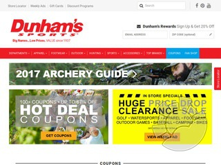 Dunhams Sports Coupons