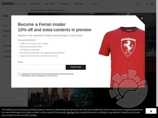 Ferrari Store Coupons