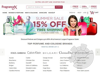 FragranceX Coupons