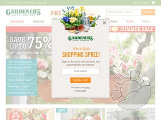 Gardener 39 s supply company coupons promo codes for Gardeners supply company