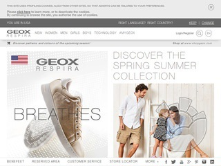 Geox Coupons