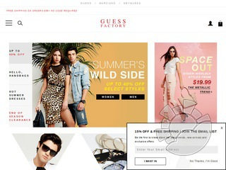Guess Factory Store Coupons
