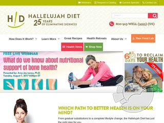 Hallelujah Diet Coupons