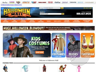 Halloween Mall Coupons