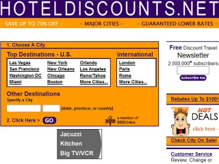 HotelDiscounts.net Coupons