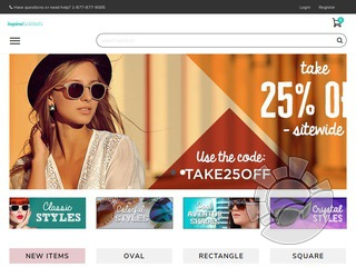 Inspired Shades Coupons
