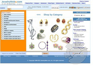 Jewelry Web Coupons