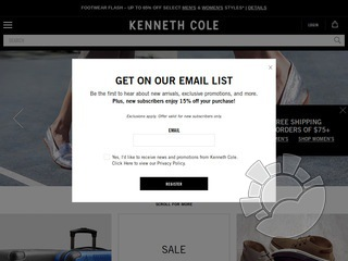 Kenneth Cole Coupons