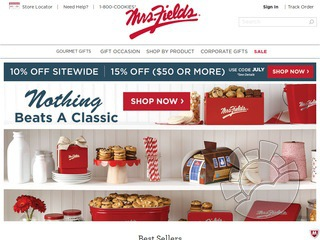 Mrs. Fields Cookies Coupons