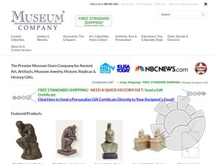Museum Company Coupons