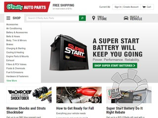 O'Reilly Auto Parts Coupons