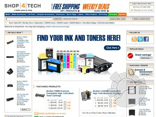 Shop 4 Tech Coupons