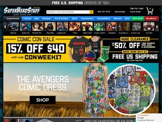 SuperHeroStuff Coupons