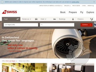 Swiss International Airlines Coupons