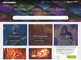 Ticket Liquidator Coupons