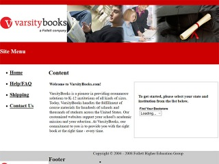 Varsity Books Coupons